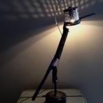 colibrì lamp Wildesignart