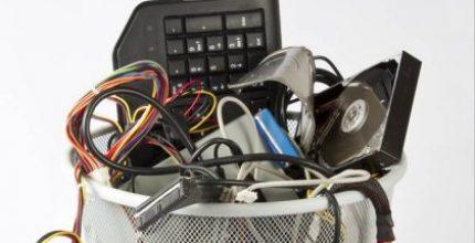 Dove mettere telefonini e piccoli elettrodomestici esausti?