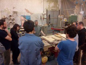 Officine Creative - Torino - la falegnameria