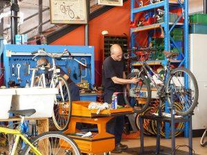 La ciclofficina di Triciclo