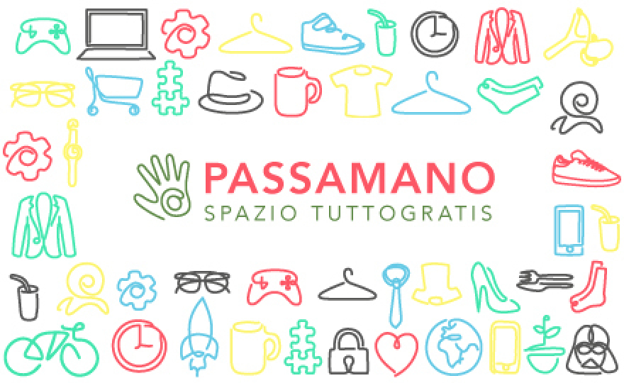 22-23 maggio  Passamano Spazio TuttoGratis  presso i Cortili Solidali di viale Palmanova 59 a Milano